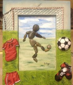 football pebble art - Yahoo Image Search Results
