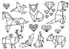 Iconos geométricos