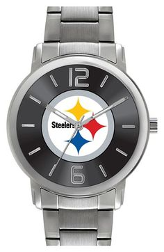Women's Game Time Watches 'NFL All Around - Pittsburgh Steelers' Bracelet Watch