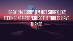 Demi Lovato - Sorry Not Sorry (Lyrics/Lyric Video)