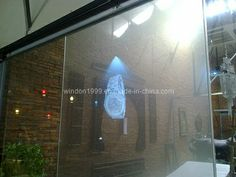 Holographic Transparent Rear Projection Film, Rear Projection Film for Glass Window photo,Details about Holographic Transparent Rear Project...