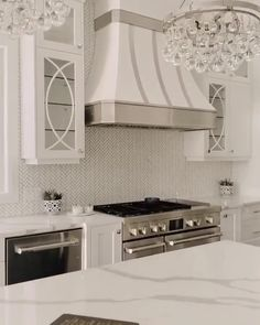 Stunning white kitchen with dramatic range hood, marble countertops, dream home, custom home Builder, Realtor Becky Deutschmann Kitchen Backsplash Designs, Diy Kitchen Renovation, Luxury Kitchens, Kitchen Inspiration Design, Kitchen Cabinet Design, Kitchen Hood Design, White Kitchen Design, Home Decor Kitchen, Modern Kitchen Design