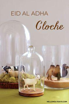 Eid Al Adha cloche decoration idea by Hello Holy Days!