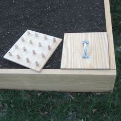 Square foot gardening templates! Awesome!