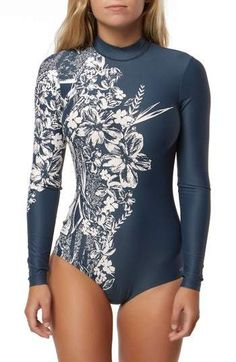 O Neill Elora One Piece Swimsuit  CommissionLink  surfsuit  nordstrom   longsleeve   d53cb6c77