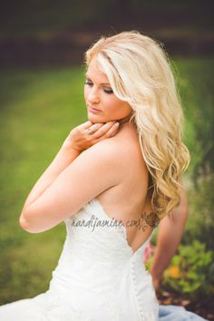 Bridals Outdoor Kingsport TN Wedding photographer www.randijasmine.com