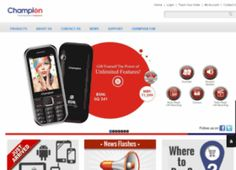 Buy Champion mobiles online at best prices in India. Compare, Review & Select from latest Champion smartphones & phablets. Champion mobiles are new generation of mobile phones that redefines life in every way. Loaded with features, looks, quality, technology, service and more