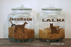 labeled-pet-food-containers from DIY Showoff