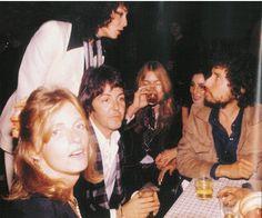 Bob Dylan, Sara Dylan, Paul McCartney....