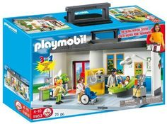 Playmobil 5953,Meeneem ziekenhuis    PLAYMOBIL Take Along Hospital Playset
