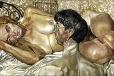 Self Portrait with Patricia Preece, 1937 by Stanley Spencer (1891-1959)