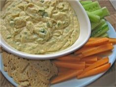 SPICED YOGHURT AND CHICKPEA DIP