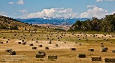 Columbus Montana and the Beartooth Mountain Range