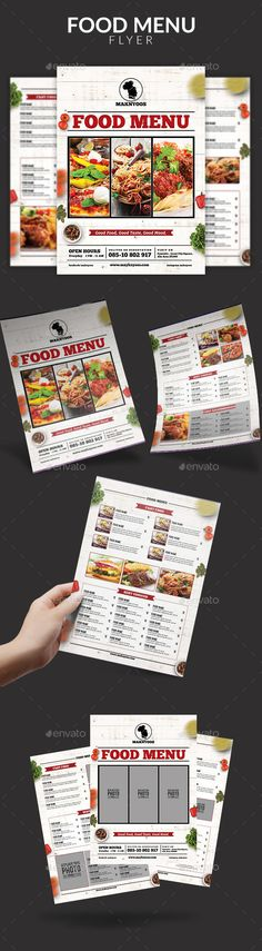 Food Menu Flyer Feature :      Easy customizable and editable     300 DPI CMYK setting     A4 ( 3 MM bleed area)     100% Layered and Full Editable     3 Psd file     Print Ready Format
