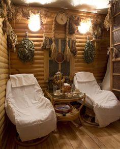 Spa Room Decor, Home Decor, Indoor Sauna, Sauna House, Sauna Design, Spa Rooms, Relaxation Room, Rustic Style, Architecture Design