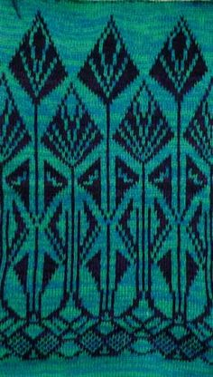 art deco knitting stitches - Google Search