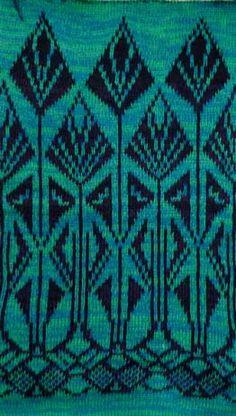art deco knitting stitches - Google Search