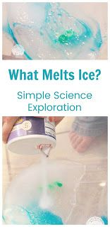 Trying to melt ice is a simple science exploration activity to pair with Zoey and Sassafras: Caterflies and Ice. The Effective Pictures We Offer You About Life Scie Easy Science, Science Experiments Kids, Science Lessons, Science For Kids, Life Science, Winter Activities For Kids, Science Curriculum, Preschool Learning Activities, Preschool Science