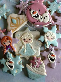 Frozen cookie