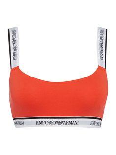 e514e0fbaa5d4 Emporio Armani Visibility cotton bralette