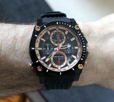 Bulova Precisionist Champlain Chronograph Watch Review   wrist time watch reviews