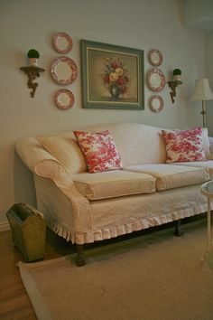 Custom Slipcovers by Shelley: Vintage Quilt Couch