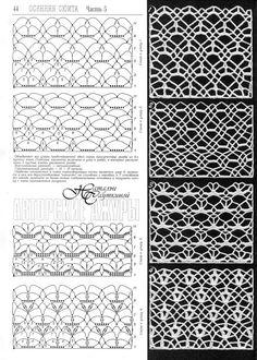 Cuadros diagonales crochet