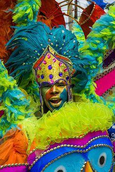 Kid's Carnival in Port of Spain, Trinidad, West Indies.