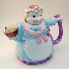 Ms Piggy Teapot ~ * M Y * P I G G Y * C O L L E C T I O N *