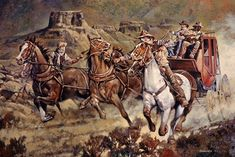 Victorian Steampunk, Western Art, Old West, Conceptual Art, Wyoming, Cowboys, Westerns, Weird, Horses