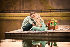 I am absolutely enamored with these two. Their adorably coordinated outfits, personalized props, quirky sense of humor and playful love thatBerryTree Photographycaptured so beautifully in their lakeside engagement session are totally crush-worthy. The best photos are the ones that show off a couples awesome personality and complete adoration for one another which means that these…