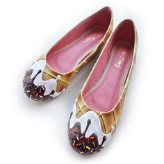 """Ordered these lovely #IceCream flats from @shoebakery *Excited!!"""""""