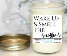 Good Pics Soy Candles coffee Ideas Picking a quality organic luminous made of wax since a variety of to your enviromentally friendly fa Mason Jar Candles, Soy Candles, Irish Cream Coffee, Ground Coffee Beans, Soy Candle Making, Coffee Candle, Soy Products, Jelly Jars, Aromatherapy Candles