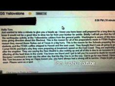 Leaked Email: U.S.G.S Yellowstone Supervolcano - http://bloggingwithbrett.net/2014/06/yellowstone-should-we-be-preparing/
