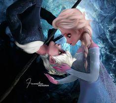 Jack Y Elsa, Jack Frost And Elsa, Jelsa, Sailor Princess, Disney Princess, Disney Couples, The Big Four, Beautiful Little Girls, Disney And Dreamworks