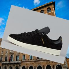 best website ecbb9 0906e Scarpe Tennis Uomo Adidas Stan Smith Vulc Nero Oro