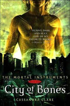 Mortal Instruments series by Cassandra Clare-- fun!