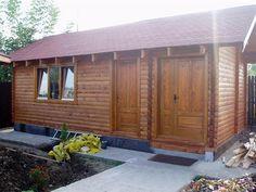 Casute din lemn & Casute de gradina Outdoor Projects, Outdoor Decor, Cabana, Garage Doors, Shed, Case, Outdoor Structures, Interior, Home Decor