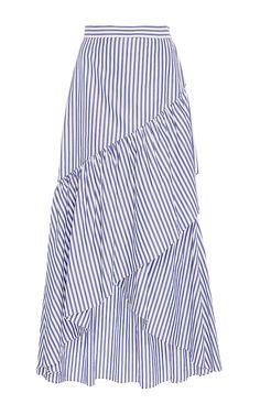 Ruffled Pencil Skirt by MDS Stripes | Moda Operandi