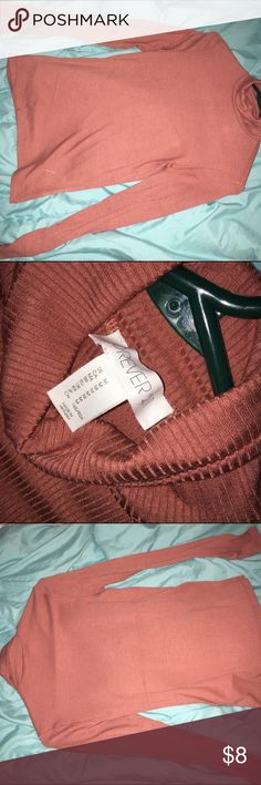 FOREVER 21 RIBBED TURTLE NECK NEVER BEEN WORN FOREVER 21 RIBBED KNIT TURTLE NECK. NEVER BEEN WORN. SUPER STRETCHY Tags: Forever 21, Hot Topic, H&M Forever 21 Tops Tunics