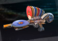 """""""Nothin' but the Hits"""" is an automatic weapon featured in Sunset Overdrive. Well, I know what I'm using when the apocalypse happens!"""