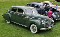 1940 - Buick Roadmaster - side front