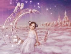 Moon Princess by mary-petroff on DeviantArt Moon Princess, Disney Princess, New Fantasy, Clipart, Mythology, To My Daughter, Disney Characters, Fictional Characters, Aurora Sleeping Beauty