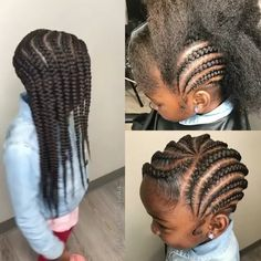 Braids Really Cool African Hairstyles Lil Girl Hairstyles, Natural Hairstyles For Kids, Kids Braided Hairstyles, Princess Hairstyles, My Hairstyle, Natural Hair Styles, Hairdos, Toddler Hairstyles, Hairstyles Pictures