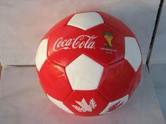Coca cola soccer ball FIFA World Cup Brasil 2014 bottle birds unused red white  | eBay