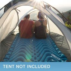 Klymit Double V Sleeping Pad with 2 X Large Pillows