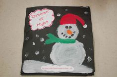 Activity for Snowmen at Night. Students illustrate a picture of what their snowman does at night and writes a story about it.