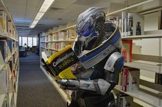 Garrus Cosplay - Brushing up on skills by *Nightlyre on deviantART
