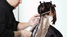 Matrix Hair Color How-To Tutorial: SOCOLOR Walnut Ombre Using a Balayage...