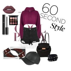 """60 seconds"" by dajana-arndt ❤ liked on Polyvore featuring River Island, SWEAR, Alexander Wang, Valentino, Lime Crime, Chanel, MAC Cosmetics, DRAKE, views and 60secondstyle"